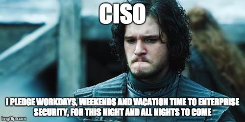 CISO work overload