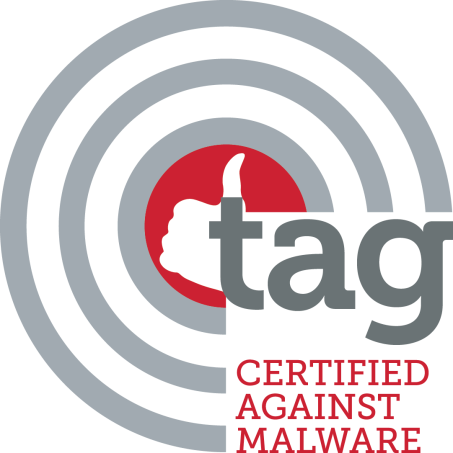 cmyk TAG Certified Against Malware