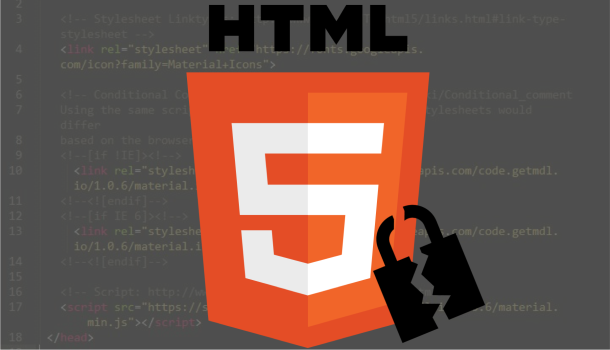 HTML 5 and malware